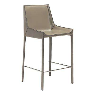 Stone Gray Bar Chair (Set Of 2)