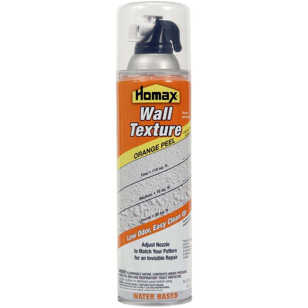 Homax 20 Oz Wall Orange L Low Odor Water Based Spray Texture