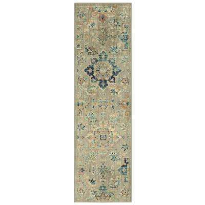 Isabella Grey 2 ft. x 7 ft. Runner Rug
