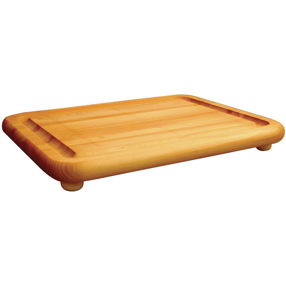 Hardwood Cutting Board with Feet