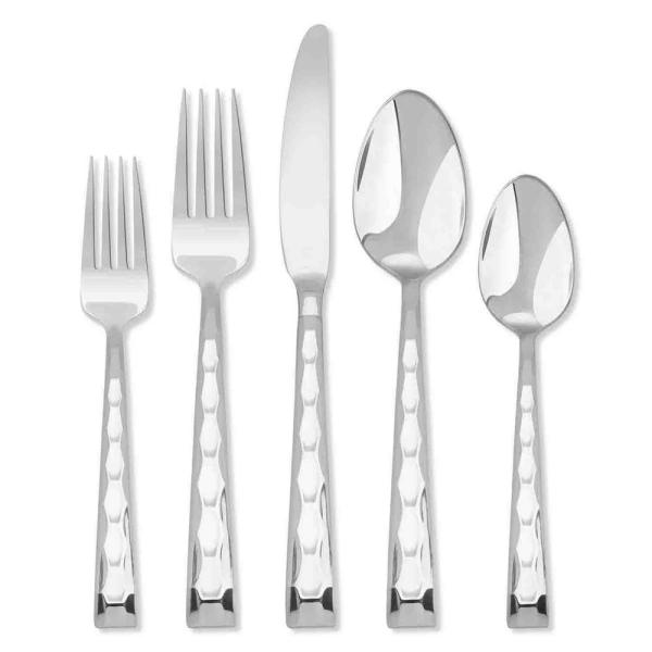 HAMPTON SIGNATURE Carnival 20 Piece Flatware Set 167B0202JS