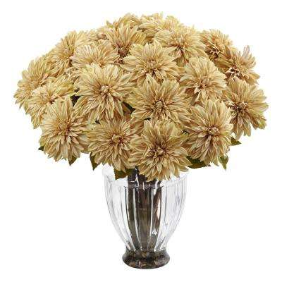 Silk Dahlia Floral Arrangement