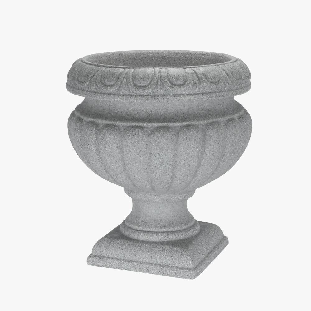 15 in. Concrete Resin Bordeaux Urn