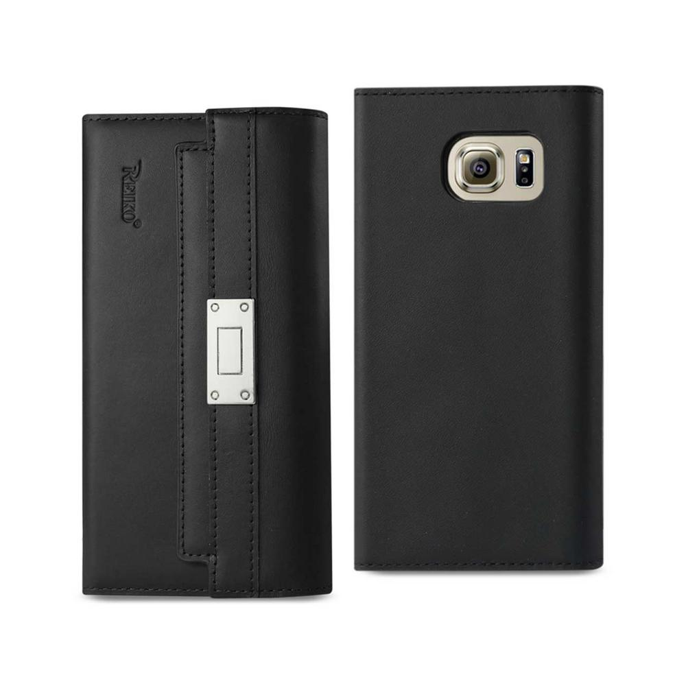 Galaxy S6 Genuine Leather Design Case in Black