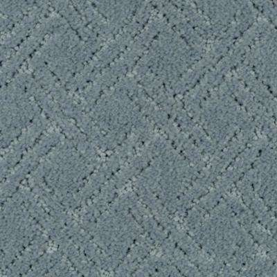 Carpet Sample - Pure - Color Marina Pattern 8 in. x 8 in.