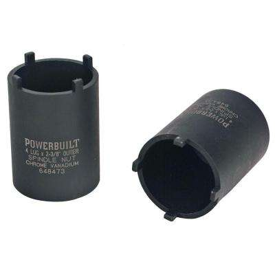 4-Outer Lug Spindle Nut Socket