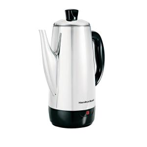 12-Cup Stainless Steel Cordless Percolator