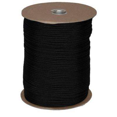 1000 ft. Paracord Spool in Black