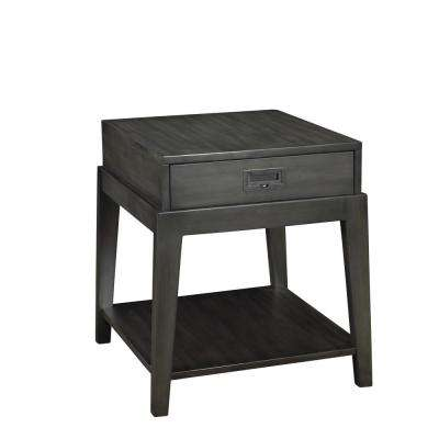 Pont Neuf Espresso End Table