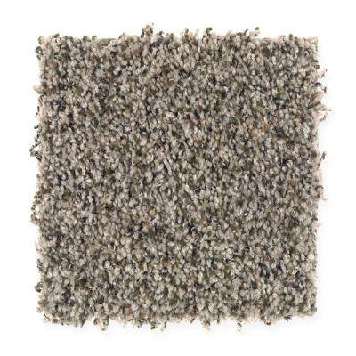 San Rafael II (F2) - Color Pebblestone Texture 12 ft. Carpet