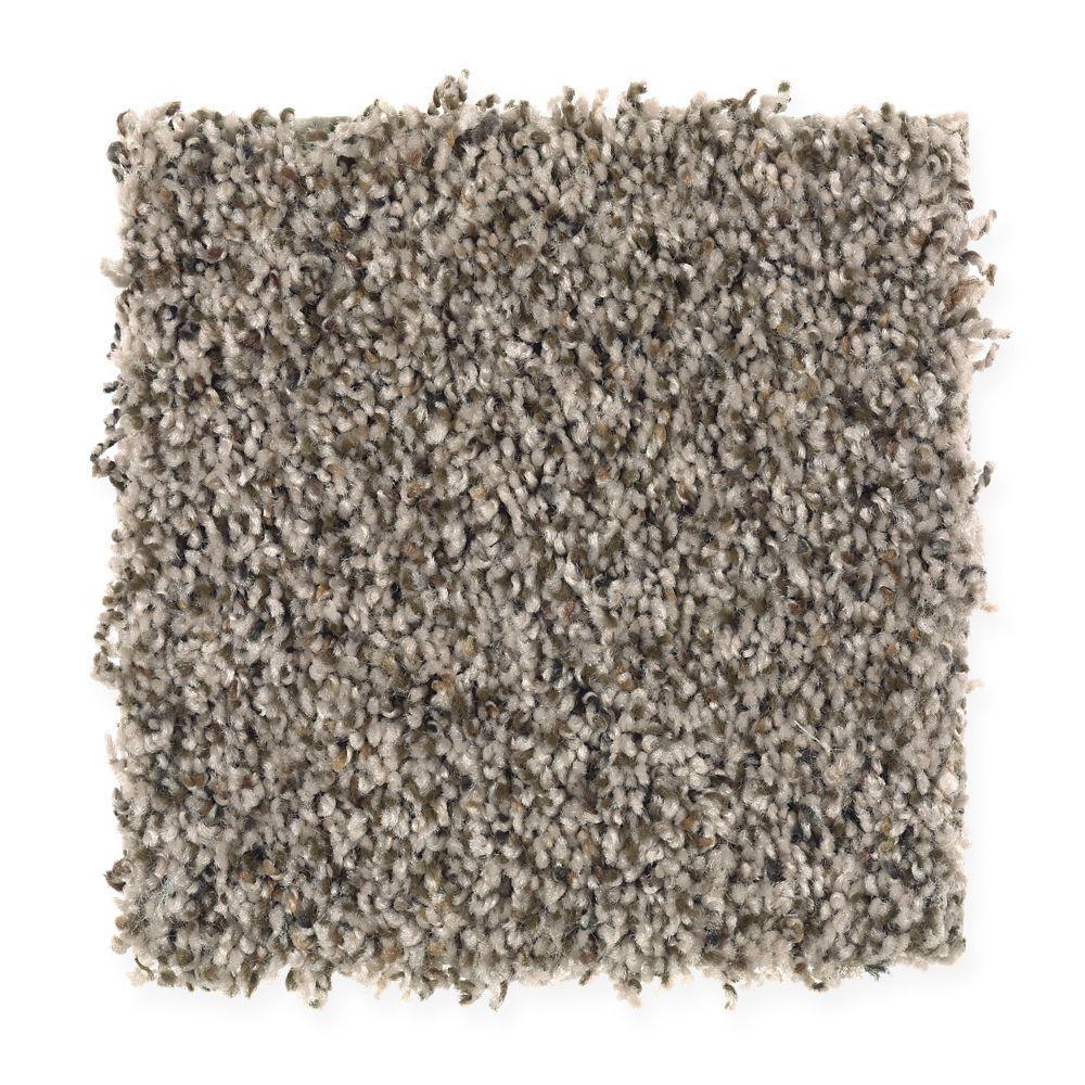 San Rafael II (F2) - Color Pebblestone Texture 12 ft. Carpet