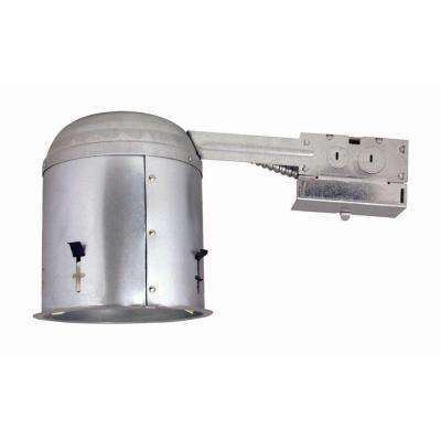 6 in. Metallic Recessed Ceiling Remodel Housing