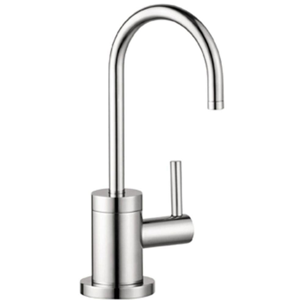 Hansgrohe Talis S Lever Drinking Fountain Faucet in Steel Optik ...