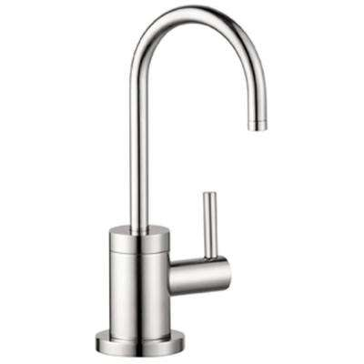 Talis S Lever Drinking Fountain Faucet in Steel Optik