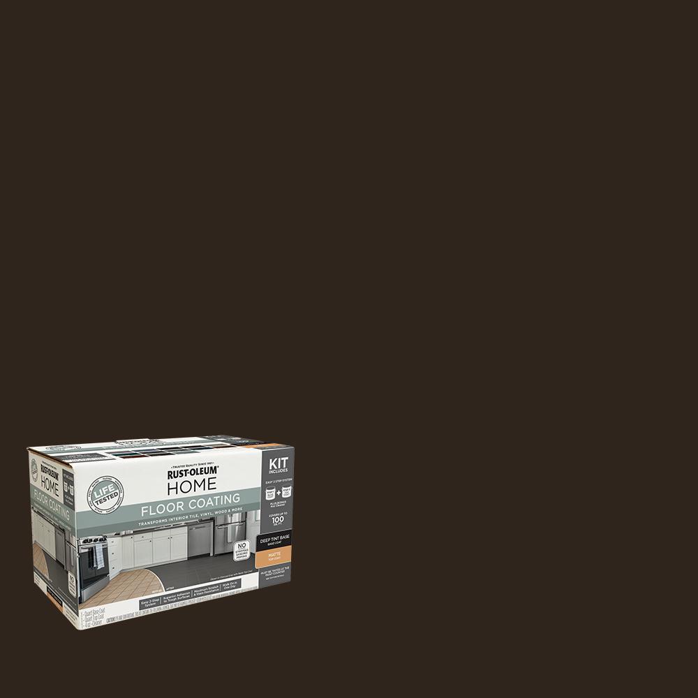 1 qt. Kona Interior Floor Base Matte Clear Coating Kit