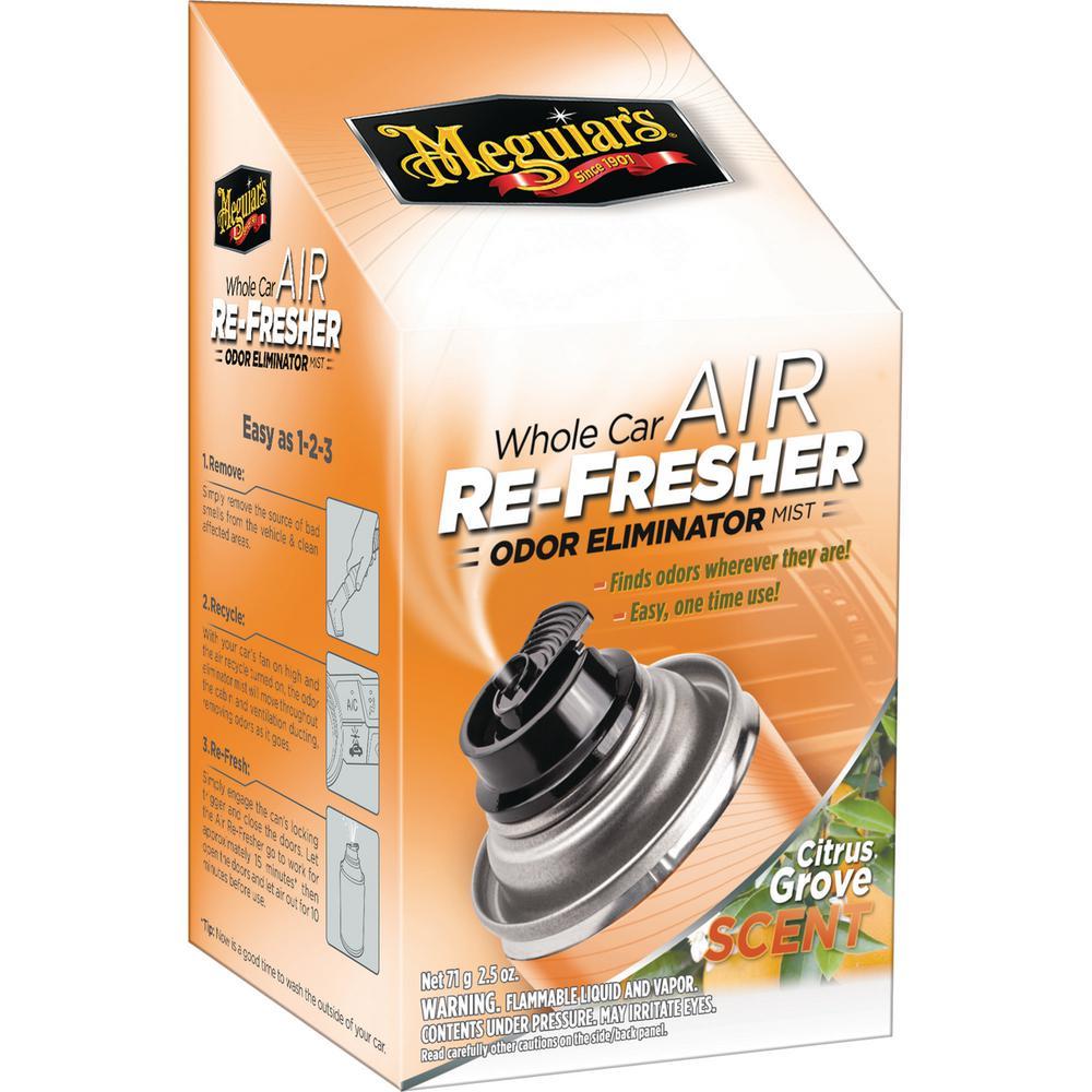 2.5 oz. Whole Car Air Refresher Odor Eliminator (Citrus Grove Scent)