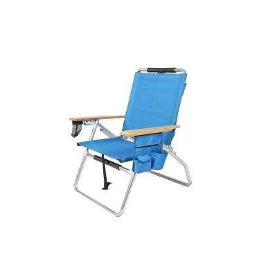 Deluxe Aluminum Outdoorsman Patio Chair