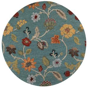 home decorators collection portico peacock 5 ft 9 in x 5 ft 9