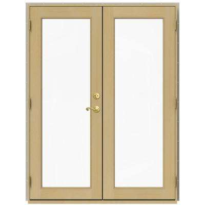 60 in x 80 in w 2500 desert sand clad wood right - 60 Patio Door