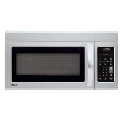 1.8 cu. ft. Over the Range Microwave with Sensor Cook and EasyClean in Stainless Steel