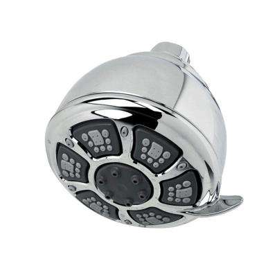 Pasadena 4-Spray 3.8 in. Showerhead in Polished Chrome