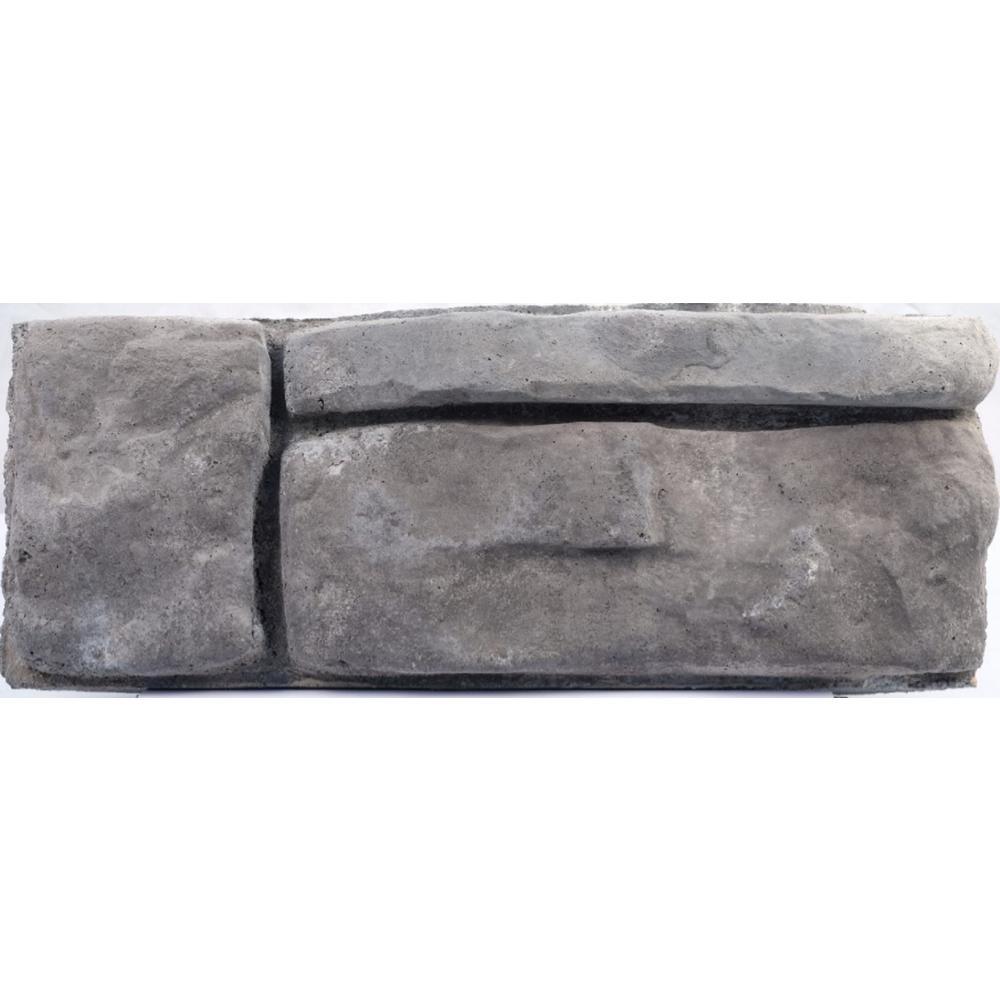 garden blocks. Panama 8.25 In. X 16 6 Gray Concrete Retaining Wall Garden Blocks