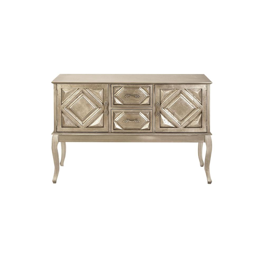 white console cabinet. Litton Lane New Traditional White Gold Wooden Console Cabinet