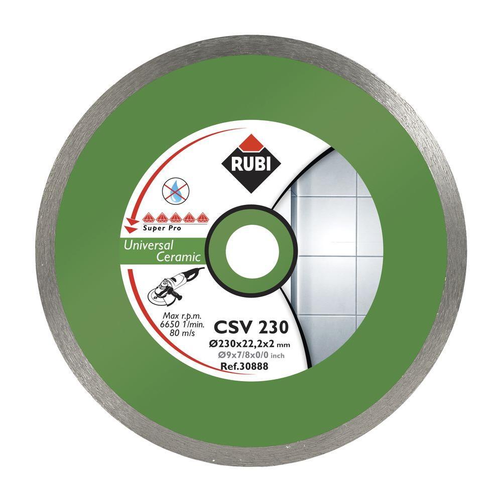Rubi CSV 4-1/2 in. Superpro Grinder Blade