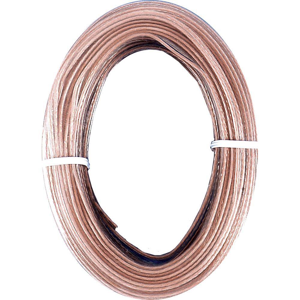 GE 100' 24g Speaker Wire - Stranded