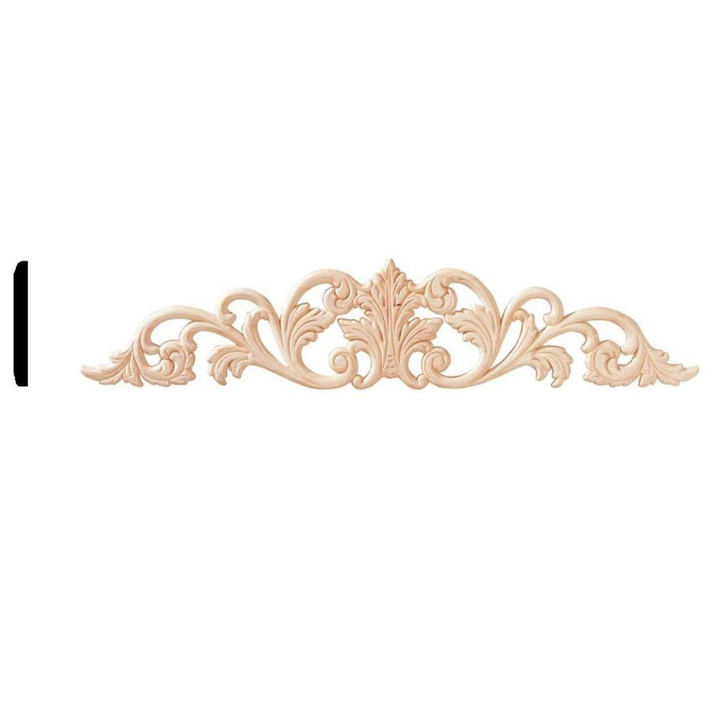 House of Fara 1/4 in. x 4-1/4 in. x 20-1/4 in. Birch Accent Moulding