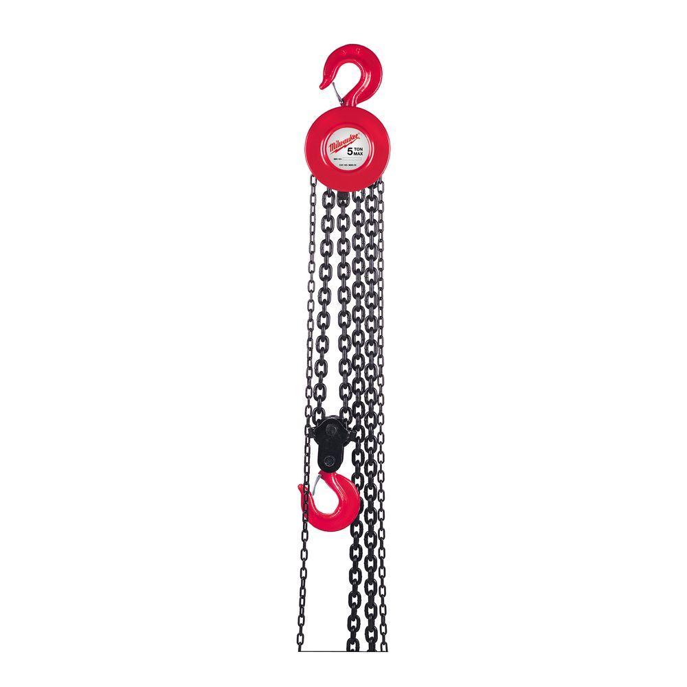 1 Ton 20 ft. Hand Chain Hoist