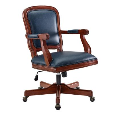 Justine Blue Office Chair