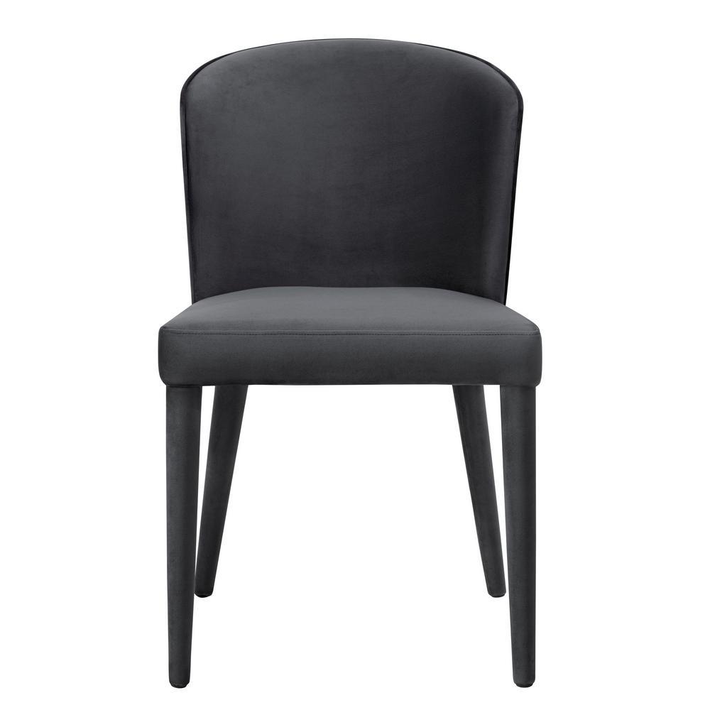 Metropolitan Grey Velvet Chair