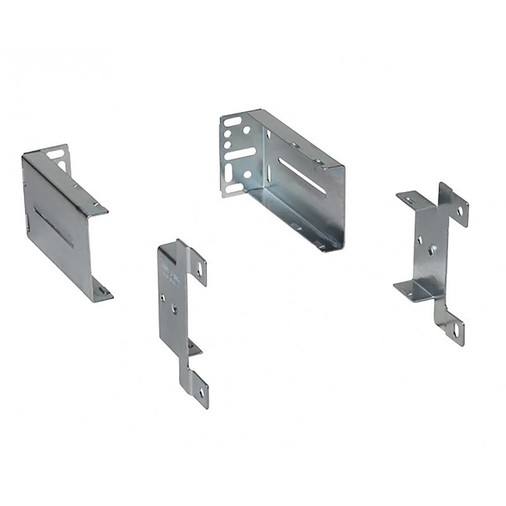 Knape & Vogt 8400 Series Mounting Kit (2 Rear Brackets and 2 Front ...