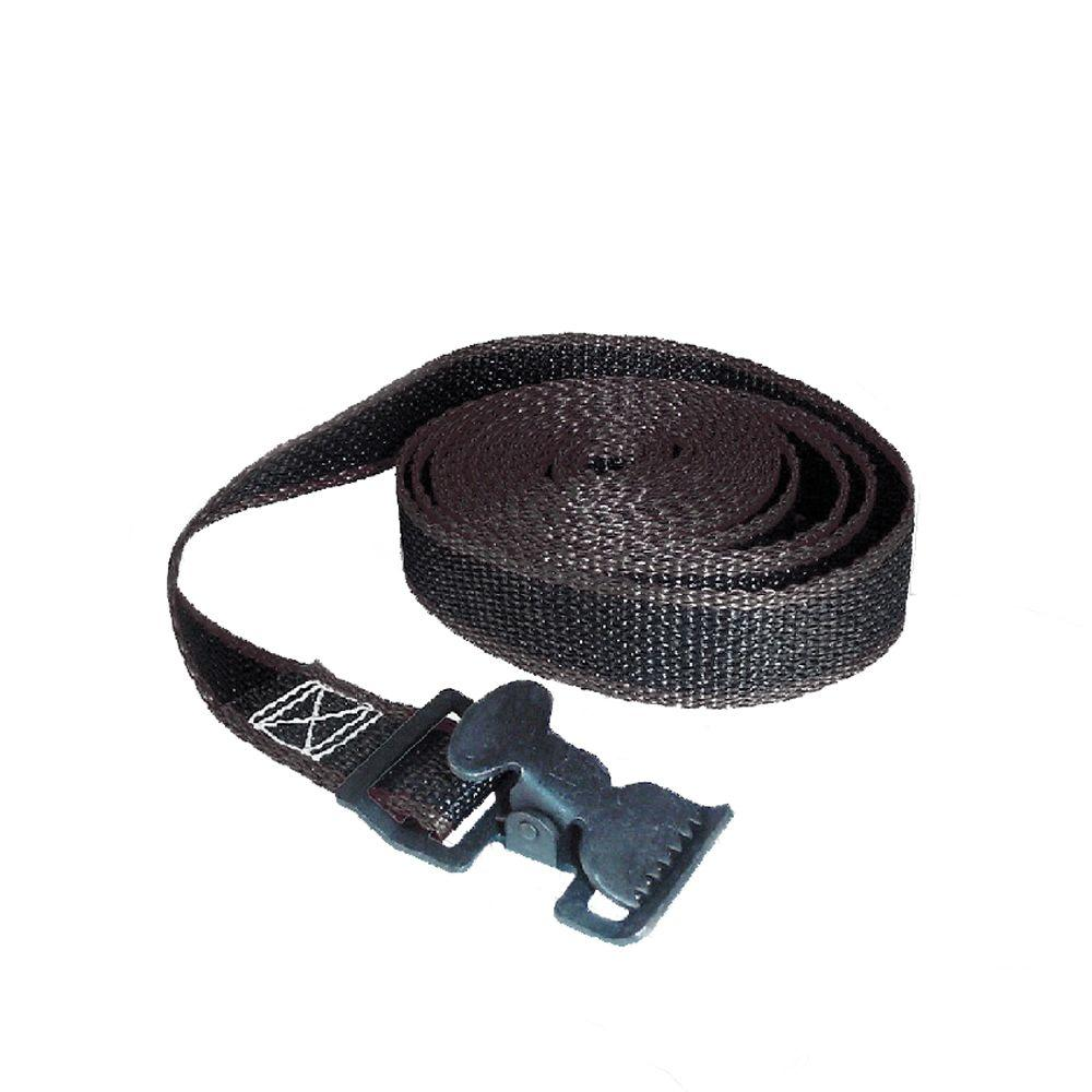 Keeper 12 ft. x 1 in. x 30 lbs. Lashing Strap with Metal Buckle
