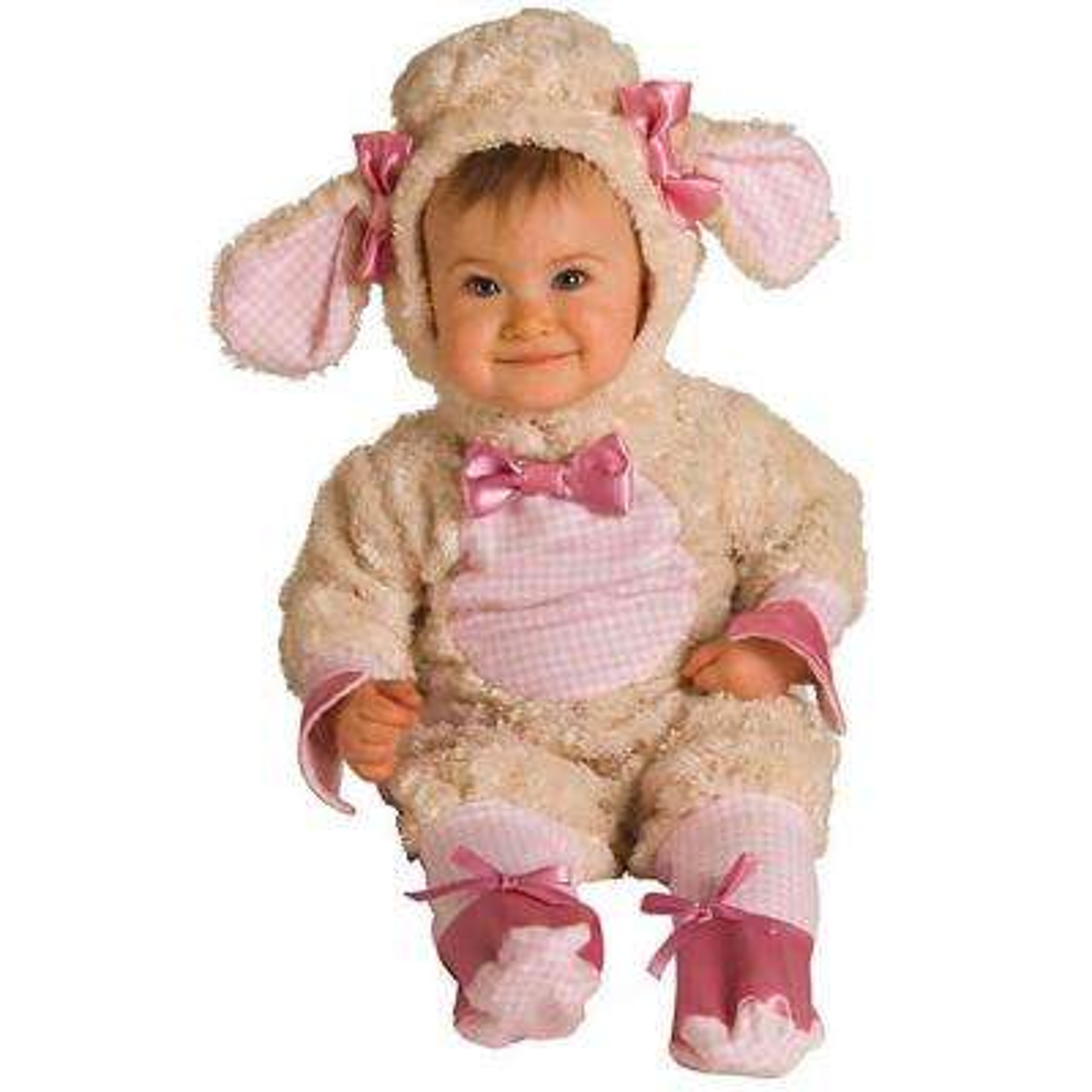 3-6 months Pink Lamb Newborn/Infant Costume