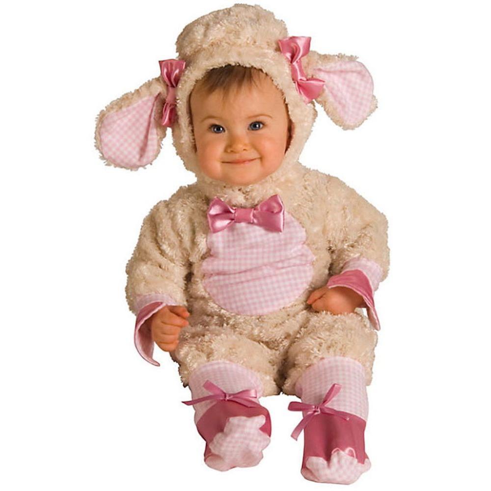 Pink Lamb Newborn/Infant Costume
