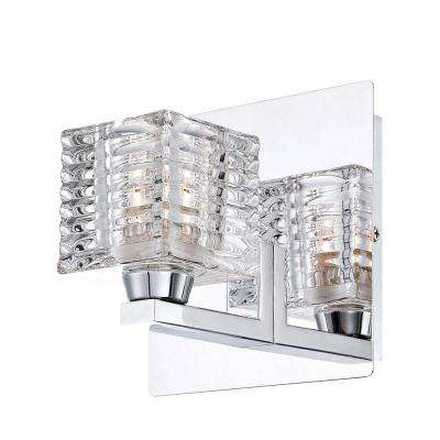 Lenza Collection 1-Light Chrome Sconce