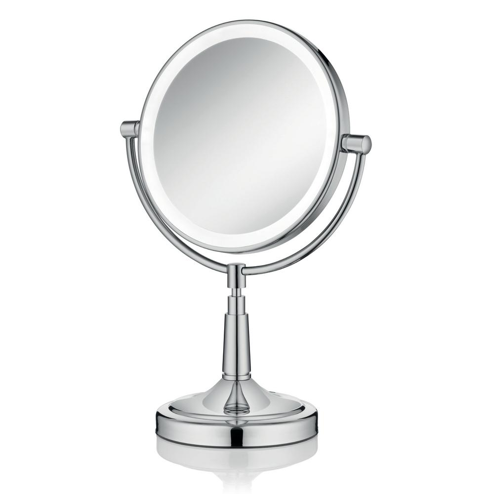 Empire Industries Empire 1X/ 5X Magnification 8 in. Lighted Makeup Mirror