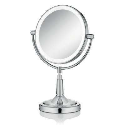 Empire 1X/ 5X Magnification 8 in. Lighted Makeup Mirror