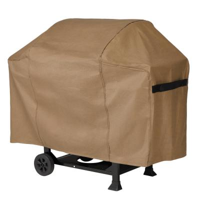 Essential 72 in. L x 26 in. W x 52 in. H Latte BBQ Grill Cover