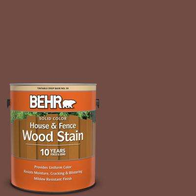 1 gal. #SC-123 Valise Solid Color House and Fence Exterior Wood Stain