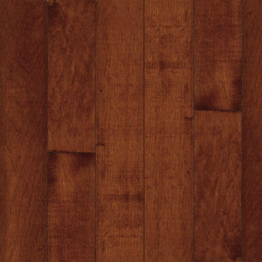 American Originals Salsa Cherry Maple 3/4 in. T x 5 in. W x Random L Solid Hardwood Flooring (23.5 sq. ft. / case)