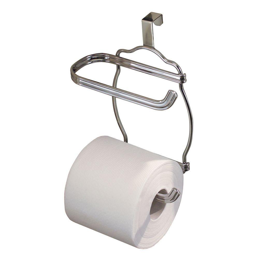 York Lyra Over Tank Toilet Paper Holder in Chrome