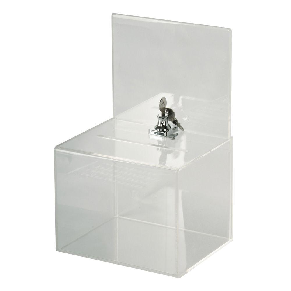 Buddy Products Large Acrylic Collection Box Lasb 0 The