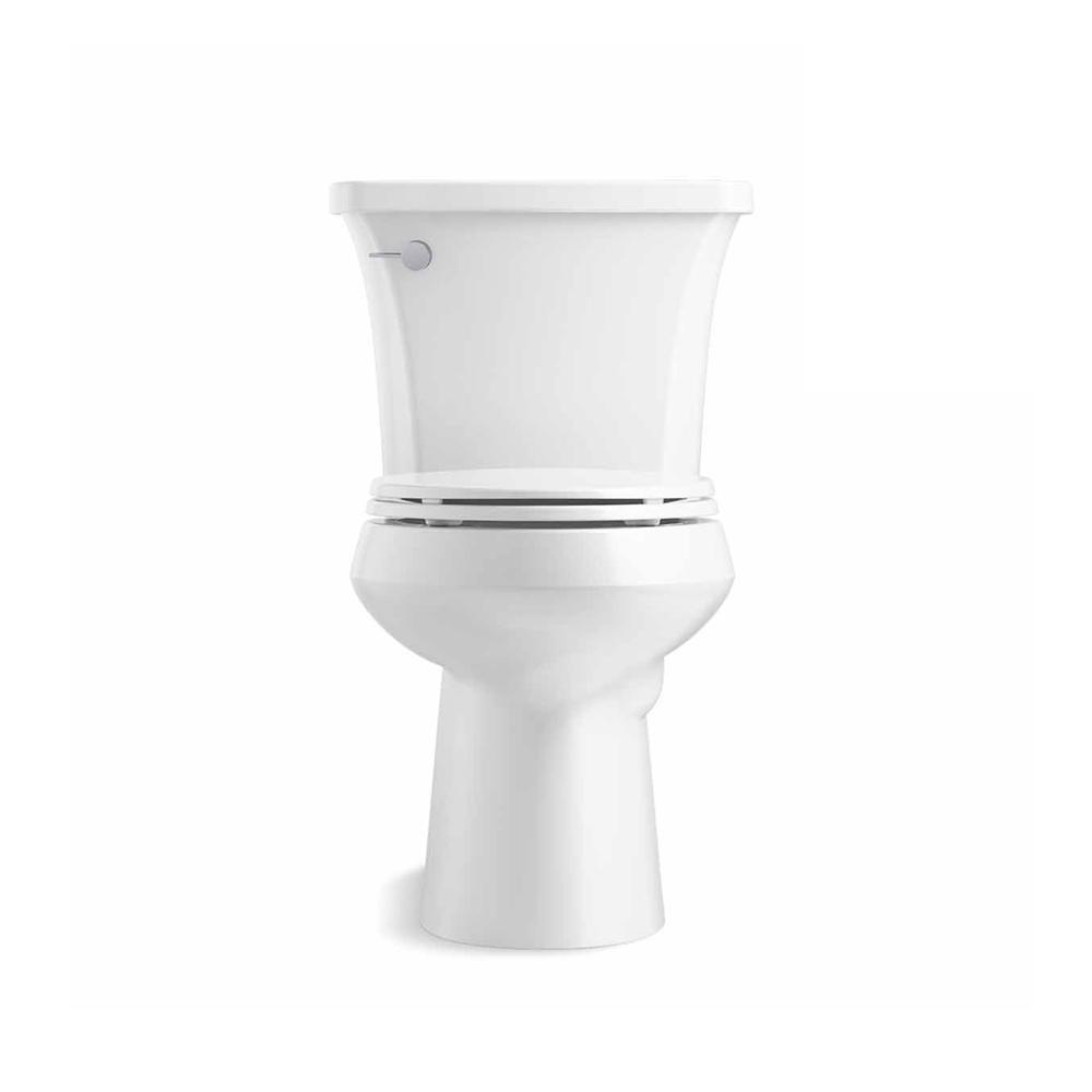 Kohler Highline Arc The Complete Solution 2 Piece 1 28 Gpf Single Flush Elongated Toilet In White Slow Close Seat Included K 78279 0 The Home Depot