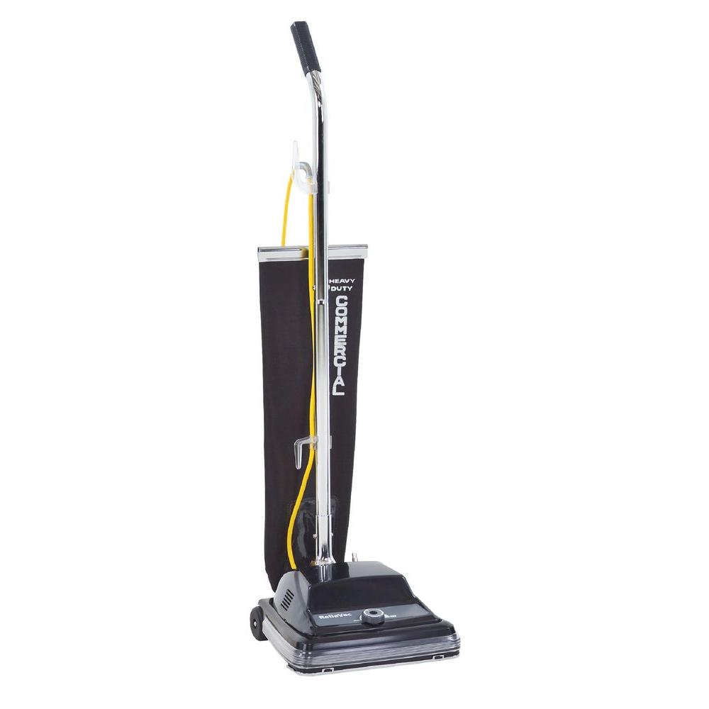 Clarke ReliaVac 12 in. Commercial Upright Vacuum Cleaner The Clarke ReliaVac single motor upright vacuums are easy to maneuver, strong on power, and designed for fast, low cost serviceability. Available in 12 and 16 in. cleaning paths. The ReliaVac gives you the power and pickup needed for all applications.