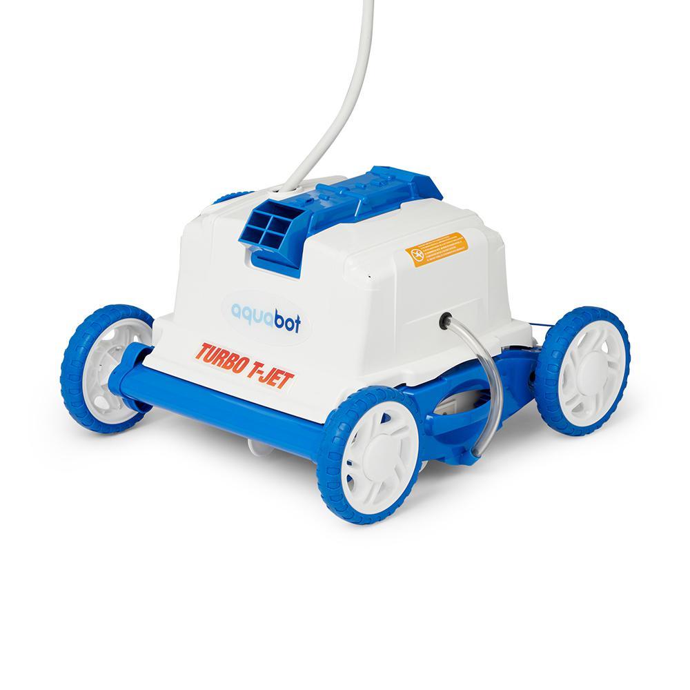 Turbo T-Jet Robotic Vacuum Cleaner for In Ground Pools