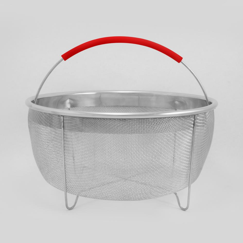 8.5 in. Stainless Steel Strainer Basket