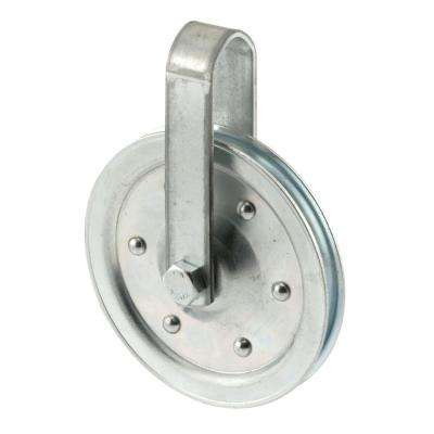 4 in. Dia Pulley with Strap and Bolt